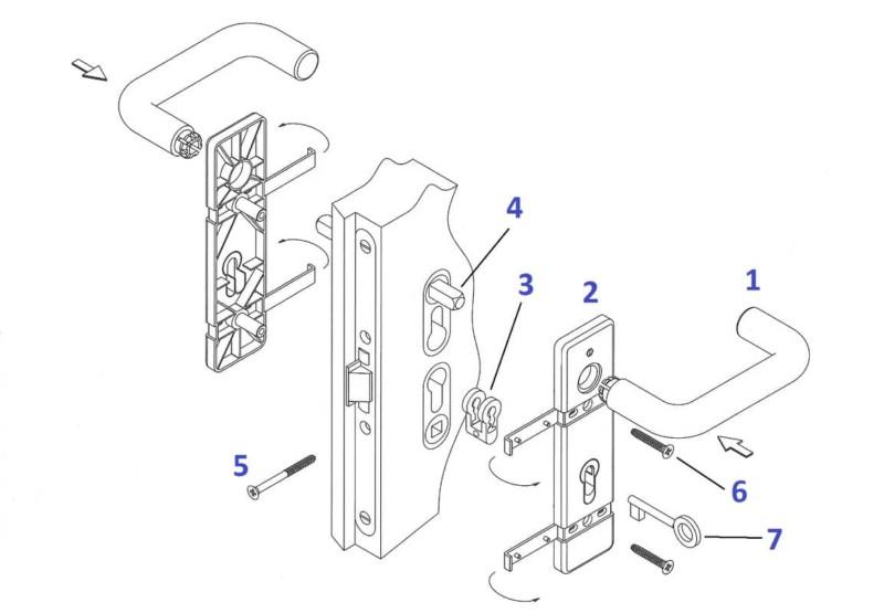 Istruzioni montaggio maniglia ninz (numerato)