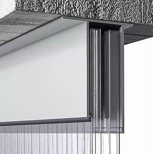 profilo superiore alluminio finestratura