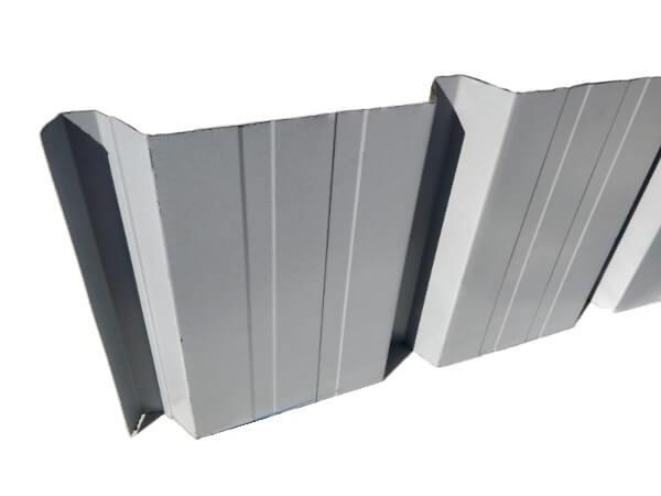 lamiera grecata colore lato inferiore grigio