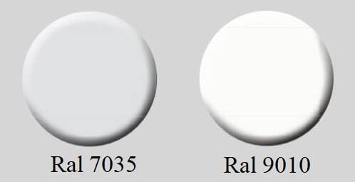 Colori-porte-tamburate-grigio-7035-e-bianco-9010